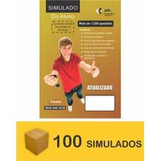 Pacote de 100 Simuladão do DETRAN - 1200 questões  (R$ 3,10 cada)